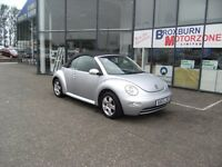 2003 53 VOLKSWAGEN BEETLE 1.6 8V 2d 101 BHP CONVERTIBLE MOT JUL 2017 **** GUARANTEED FINANCE ****