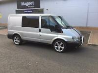 Transit 2.0l silver factory fitted 6 seater