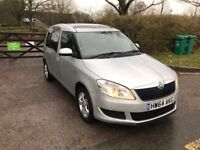 64 PLATE SKODA ROOMSTER SE 1.2 TSI 28,000 MILES ONLY EXCELLENT CONDITION