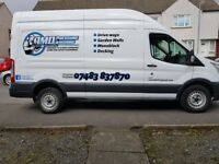 A.M.D . Pressure washing services. Driveway Cleaning. Prestwick.