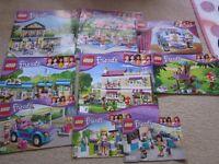 Bundle of Lego Friends - 9 sets!