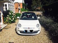 Fiat 500 Lounge Rhd with Pan roof with less than 10k on the clock
