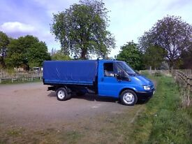 Ford transit 115 t350 pickup with covered back