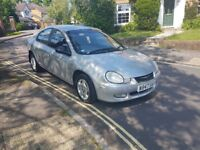 2000 CHRYSLER NEON SE AUTOMATIC SILVER 4 DOOR SALOON MOT FEB 2019 2 KEYS