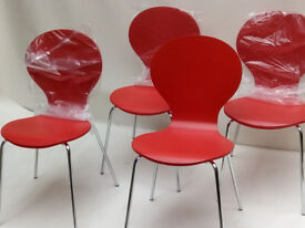 4 made com dining room chairs brand new