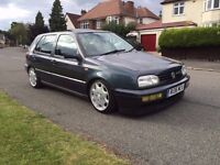 1998 VOLKSWAGEN GOLF MK3 VR6 AUTOMATIC LOW MILES MERCEDES WHEELS STACKS OF HISTORY GREY