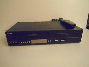 PHILLIPS VCR/ DVD COMBO
