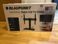 Blaupunkt tabletop tv stand brand new never opened