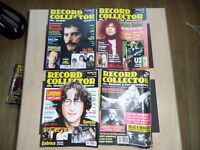 Record Collector Magazines x 40 Beatles, Dylan, Springsteen, Oasis etc