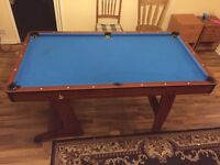 Pool Table without balls neither sticks