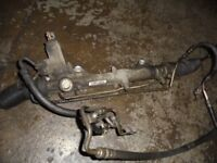 Mercedes-Benz E class E220 W212 2010 power steering rack complete with pipes