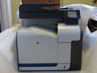 HP LaserJet Colour Printer Pro500 and 7 boxes of new toner