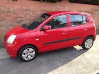 KIA PICANTO 1L 2006 REG, LONG MOT, FULL SERVICE HISTORY, NEW CLUTCH AND HPi CLEAR (CHEAP INSURANCE)