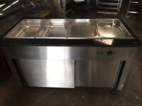 WET Bain Marie / Electric Wet Heat - Stainless Steel Container