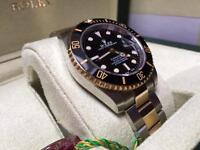 Men's Rolex Submariner Swiss ETA