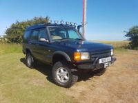 Land Rover Discovery 2 off road ready 11 months MOT