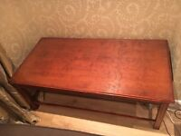 Coffee table, nest of tables & Tv stand