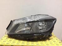 Mercedes A220 headlight taillight 2014
