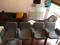Dining Living Room Chairs (4)