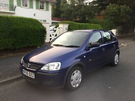 2005 vauxhall corsa 1.2 twinport 2 owners full service history