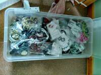 Hundreds of pieces of costume jewellery stock clearance. Wood, beads and shell