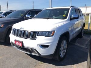 2017 Jeep Grand Cherokee LIMITED**LEATHER**SUNROOF**8.4 TOUCHSCR