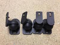 Surround sound speaker mounts