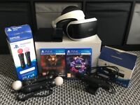 Playstation VR bundle! Over £500 RRP hardly used.