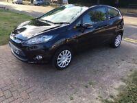 3Mths Warranty, £20 Tax,MOT 12 Months,HPI Clear,Ford Fiesta 1.4 TDCi DPF Edge 3dr,Black,Manual