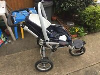 Push chair baby buggy Jane Powertrack 360