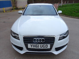 AUDI A4 2.0 TDI S LINE 4d 134 BHP SERVICE RECORD + FULL YEAR MOT + 1 PREVIOUS KEEPER