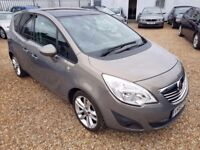 Vauxhall Meriva 1.4 i 16v SE MPV 5dr. GENUINE LOW MILEAGE. HPI CLEAR. PANORAMIC SUNROOF