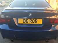 B6 ROR CHERISHED PRIVAT NUMBER PLATE bmw audi m3 m5 m6 rs6 rs4 golf gti amg bentley mercedes