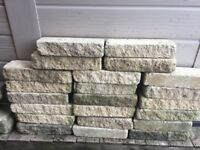 22 sandstone bricks
