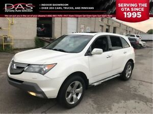 2009 Acura MDX Elite Package/NAVIGATION/TV DVD/7 PASS