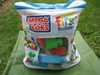 Bag of Over 60 Mega Bloks by First Builders for £6.00