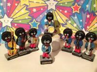 Robertsons Golly band - original pottery figures from 1960's - 70's