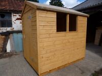 GARDEN SHED 7ft X 5ft
