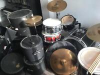 *SOLD* Full Drum Kit + more Pearl Export/Sabian (Open to offers)