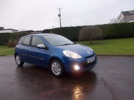 2010 RENAULT CLIO 1.2 5 DOOR ONE OWNER FROM NEW LOVELY CAR