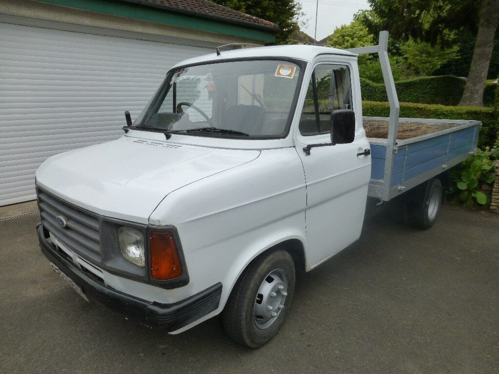 Camping Van For Sale >> Classic Mk2 Ford Transit 190 Dropside Van. Only two owners since new and garaged all it's life ...