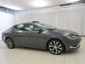 2016 Chrysler 200 200C V6 SEDAN w/ BLUETOOTH, LEATHER, TOUCH SCR
