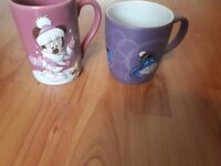 Two Disney character mugs Minnie Mouse/Eeyore, barely used