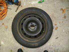 185/60r15 eagle nct 5 tyre on clio rim .