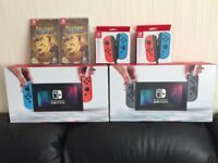 NINTENDO SWITCH CONSOLE BUNDLES - BRAND NEW - RAYMAN LEGENDS - BRAND NEW