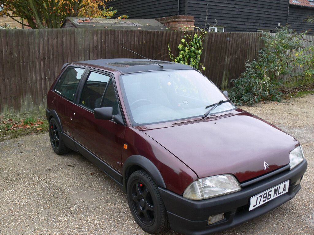 citroen ax gti with 1 6 16v vts engine in braintree essex gumtree. Black Bedroom Furniture Sets. Home Design Ideas
