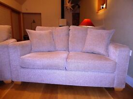 Quality sofa and two matching arm chairs in very good condition