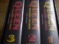Queen The Complete Set VHS Videos Old Tapes