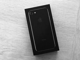 iPhone 7 plus jet Black Sealed 128 gb Vodafone.
