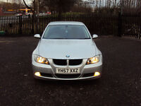 BMW 3 SERIES 318i ES 6 SPEED 4 DOOR SALOON 2007 CD PLAYER AUX LOW MILEAGE SERVICE HISTORY LONG MOT